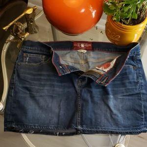 Lucky Brand denim mini skirt size 10/30